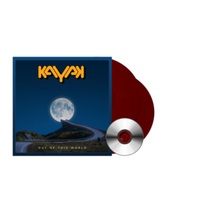"EXCLUSIEF: Kayak - Out of this World [2x 12"" vinyl+CD, bloed rood vinyl]"